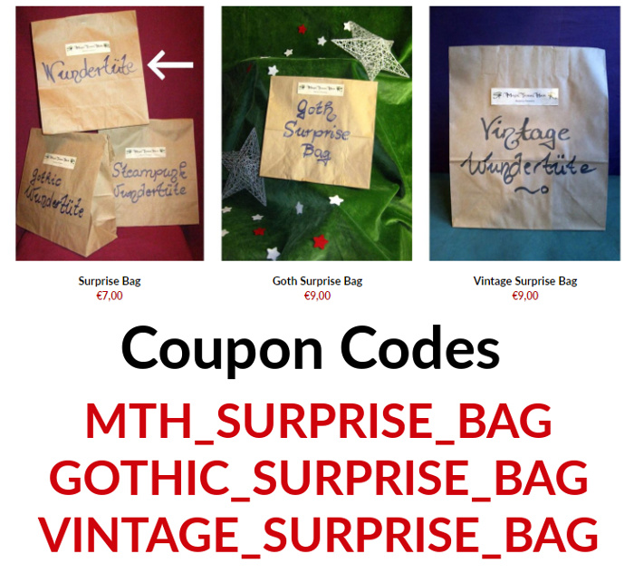 Free surprise bag with your anniversary order 11 years Magic Tribal Hair