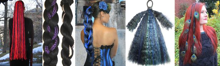 Gothic Festival Sale 50 % Rabatt auf Gothic Haarteile