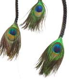 Peacock Extensions 3 Braids, black