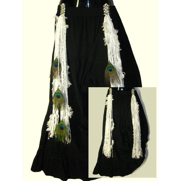 Snowflake (Peacock) belt clip