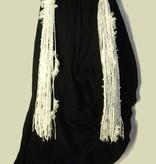 Gürtel- & Haarclip Schneeflocke (Pfau)
