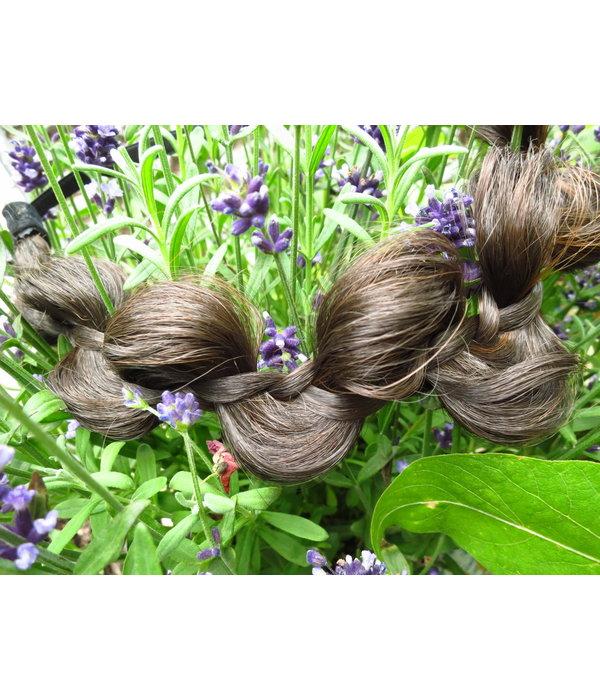 Messy Butterfly Braid Headband, flat