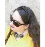 Haarband Fischgrätenzopf, schmal