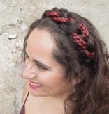 Rapunzel Braid Headband medium, messy look