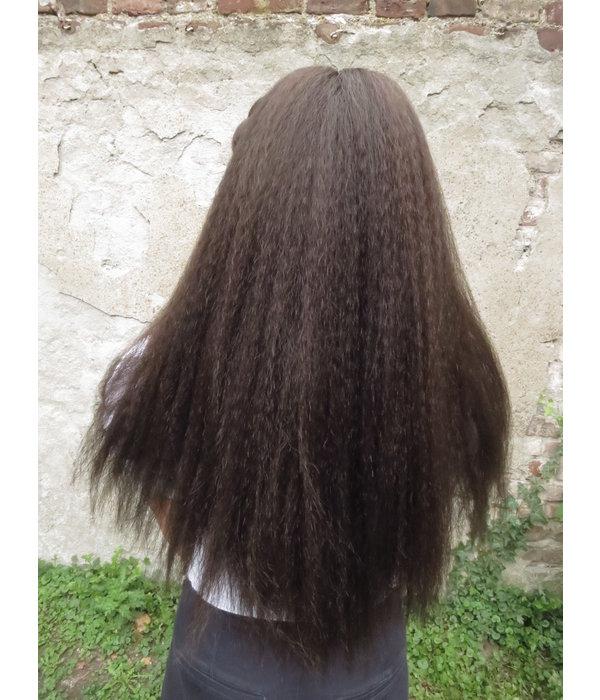 Haarteil, Größe L, gekrepptes Haar