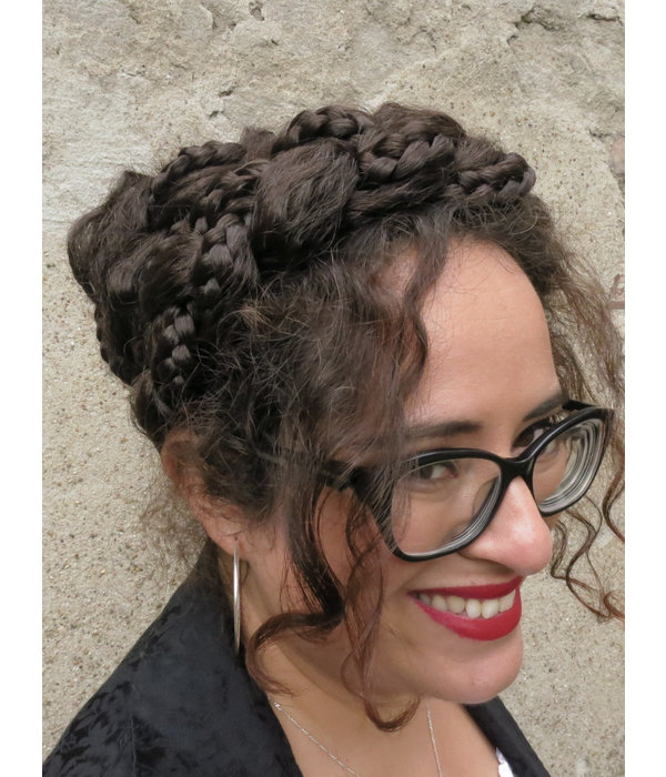 Messy Fantasy Zopf Haarband