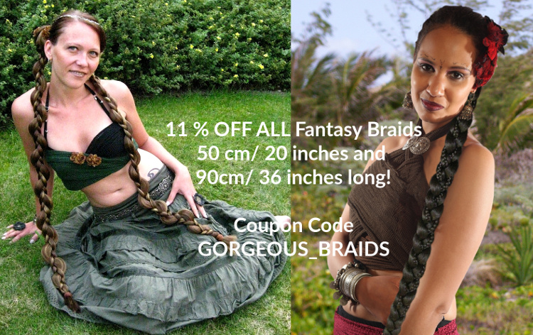 11 % off all fantasy braid hair extensions