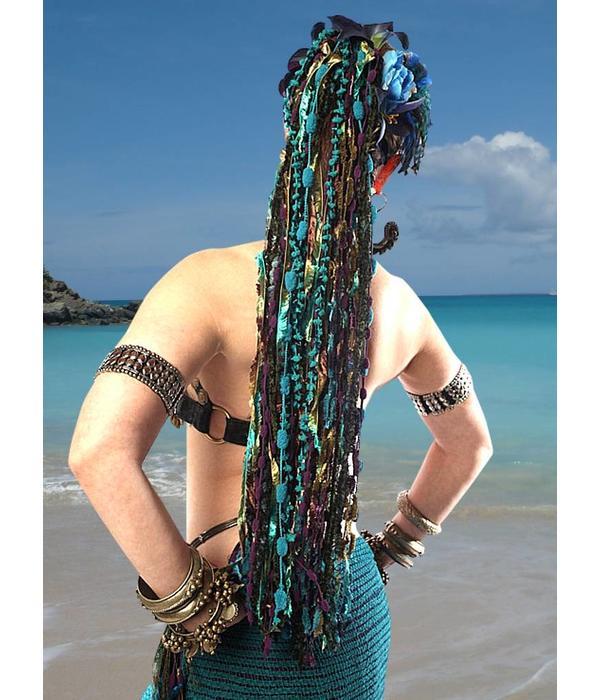 Paradies - Haarteil aus Bändern