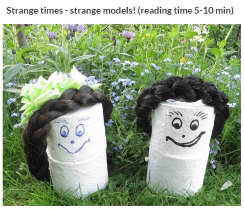 Meet hilarious toilet paper models Cloey & Loouise!