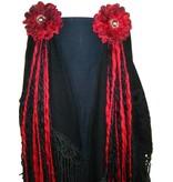 Vampirella gothic belly dance yarn fall