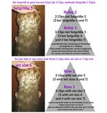 Clip-in Extensions, gekrepptes Haar