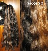 Steampunk Stripes Hair Falls Waves M/L