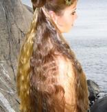 2 Steampunk Stripes Hair Falls S, waves