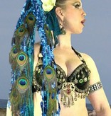 Blue Mermaid Pfau - Pfauenfeder extension