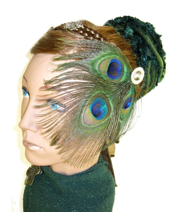 Smaragdfee Fantasy Haarteil