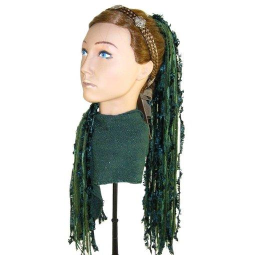 Smaragdfee Haarteil