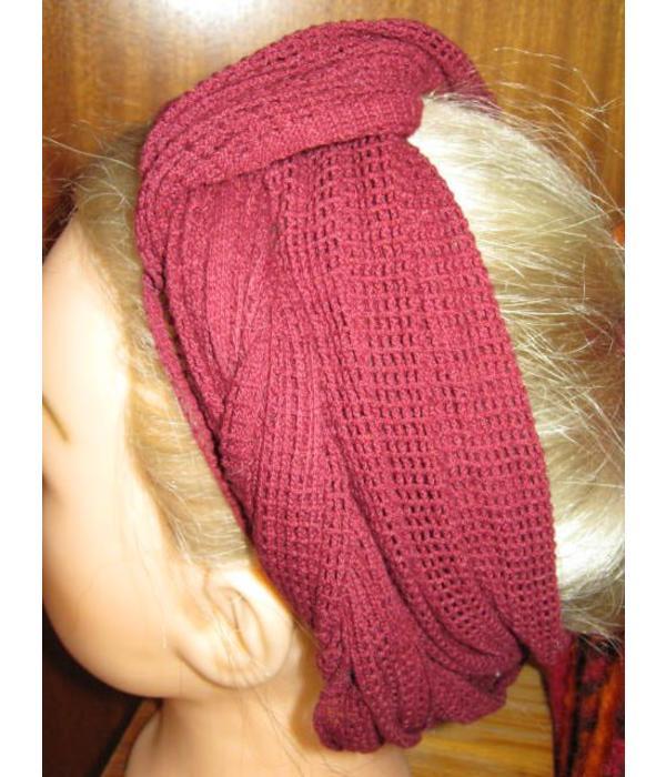 Red net hip & hair scarf