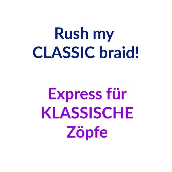 Rush my braid - braided & twisted!