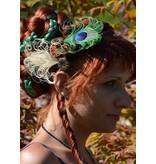 Peacock Fascinators - mixed set