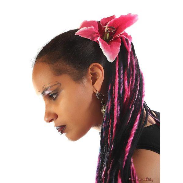 Dark Pink Lily 2 x