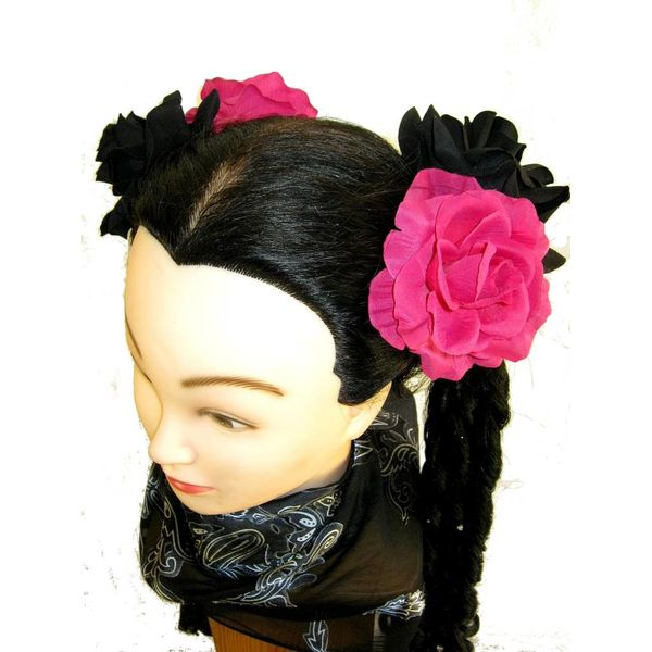 Rose pink & schwarz