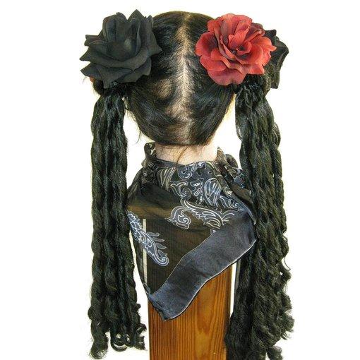 Rosen weinrot & schwarz
