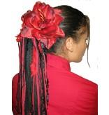 Flamenco Amaryllis Hair Flower 2 x