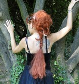 Braid & hair falls, 2 in 1, wavy hair