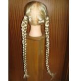 Zöpfe 2 x Größe S, gewelltes Haar