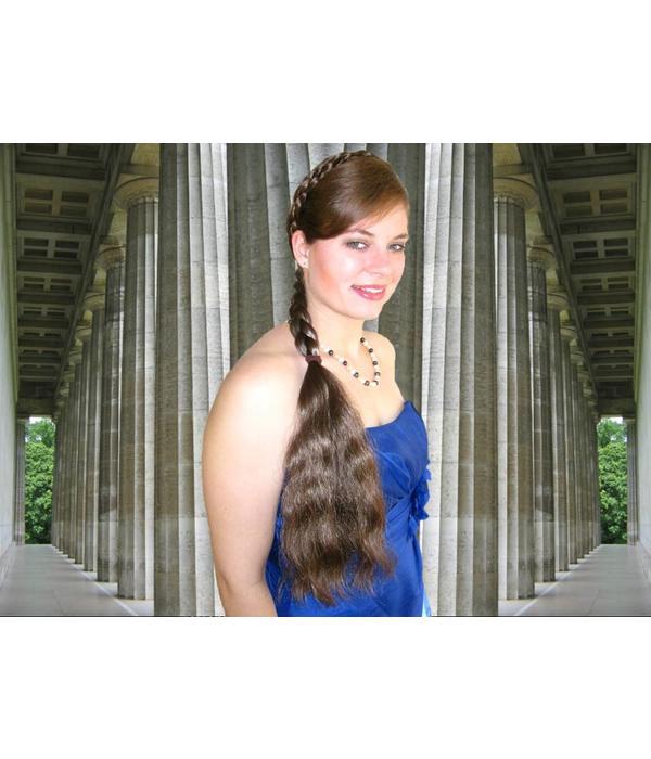 Braid/ Plait M size, wavy hair
