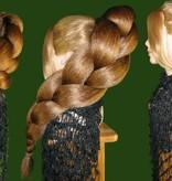 Zopf Größe XL, gekrepptes Haar