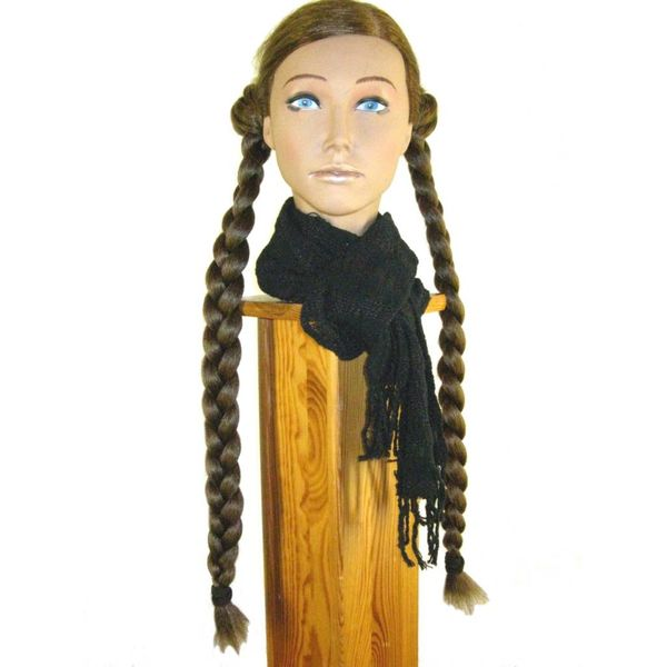 Braids 2 x S size, crimped hair