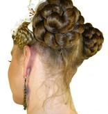 Zöpfe 2x Größe S, gekrepptes Haar