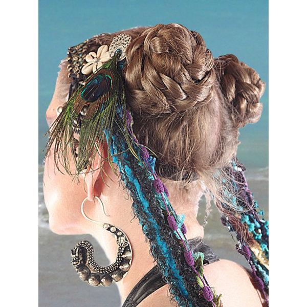Tribal Haarschnecken, natürlich, S