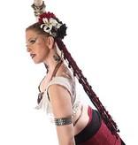 Gothic Belly Dance Hair Flower Set