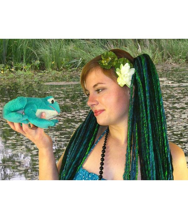 Mermaid Water Lily Hair Flower Set