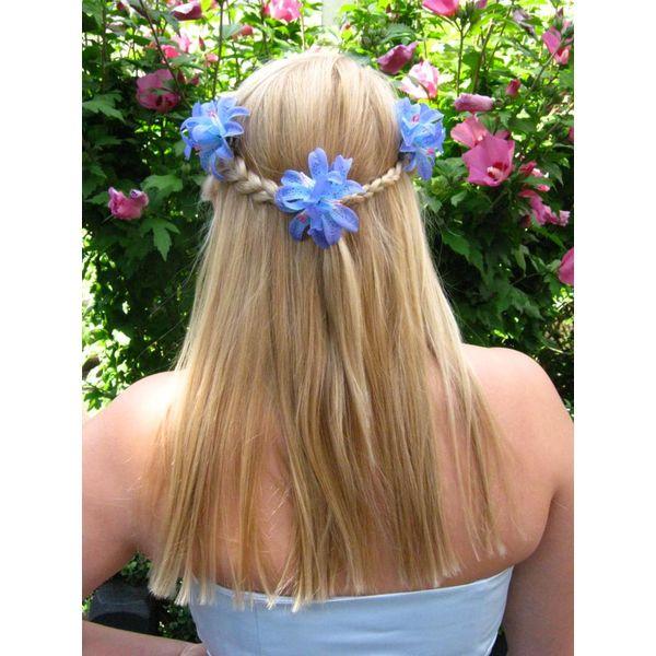 Lilien blau-türkis