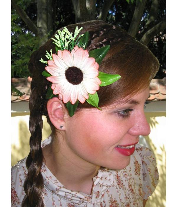 Boho Fairy Hair Flower 2 x