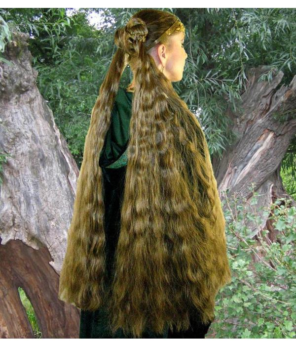 2 x Braid size L extra, wavy hair
