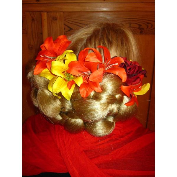 Gipsy Hair Flower Set