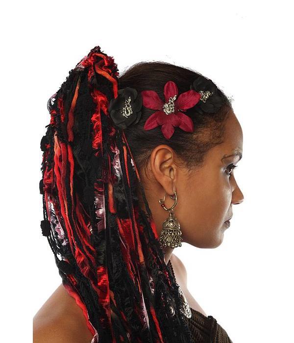 Gothic Drachen Haarblüten