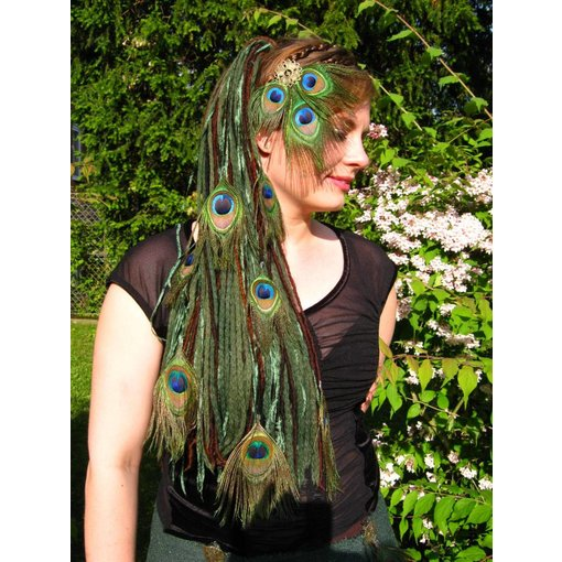 Forest Elf Peacock Dreads