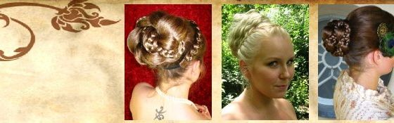 Chignons, Buns, (Braided) Updos & Hair Crowns