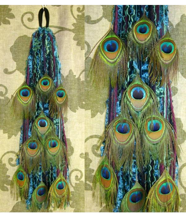 Northern Lights in Paradise Peacock yarn fall