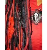 Goth Vanitas Cameo Hair Clip