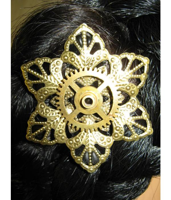 Mechanical Steampunk Hair Flower I