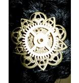 Mechanical Steampunk Hair Flower III