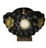 Mechanische Blüte III Steampunk Haarblüte