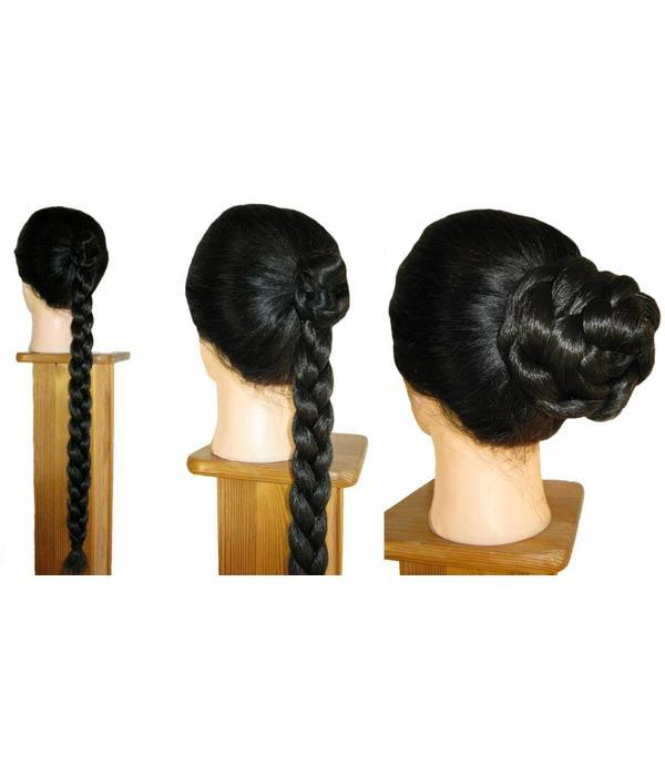 Haarschnecken, geflochten, voluminös