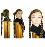 Braided Hair Bund, voluminous